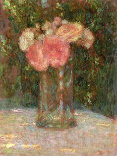 Henri Le Sidaner. The Bouquet