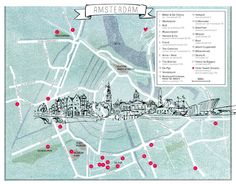 vt loves AMSTERDAM - hotspots