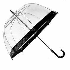$35 - Fulton Birdcage Black Bubble Umbrella