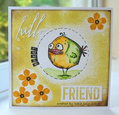 Kath's Blog......diary of the everyday life of a crafter: Hello Sweet Friend...