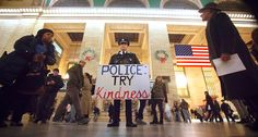 Two NYPD cops get killed and 'wartime' police blame the protesters. Have we learned nothing?
