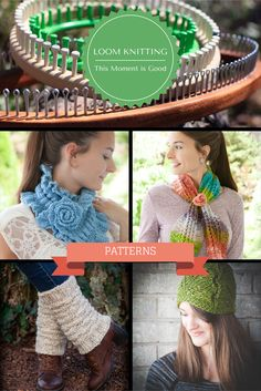 Loom Knitting Patterns. Our new loom knitting pattern store. Loom Knit hats, scarves, bags, legwarmers, mitts and more!