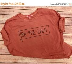 ENDS AT 12AM-On Sale-Be The Light// by TradedCrownsBoutique