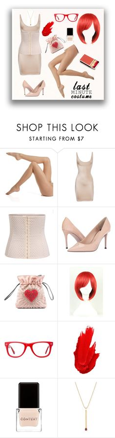 """Matchstick"" by confusioninme ❤ liked on Polyvore featuring Donna Karan, SPANX, Paul Smith, Les Petits Joueurs, WithChic, Muse, Maybelline, Context and Sydney Evan"