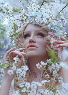Photographer Agnieszka Lorek makes incredibly beautiful and fascinating photos. That is a true frozen magic, wonderforests, fairies and elves... It's amazing, but she comes up with her images making hairstyles, makeup and even costumes on her own. To shoot, she prefers the magic beauty of Welsh forests to studios. The fascinating world of photos is called My Dimension.