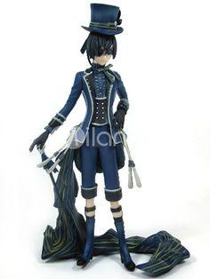 Black Butler Ciel Phantomhive PVC Anime Action Figure - Milanoo.com
