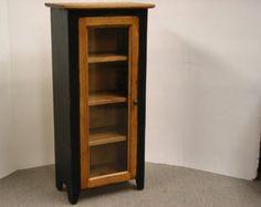 Jelly Cabinet / Kitchen Cupboard / One Door by HarvestTreasuresInc