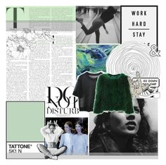 """normal is just an illusion; whats normal for the spider is chaos to the fly"" by nightcatcher ❤ liked on Polyvore featuring Anja and Retrò"