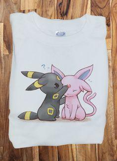 Soft Premium Quality Custom Eeveelution Pokemon Eevee Cute  T-Shirt