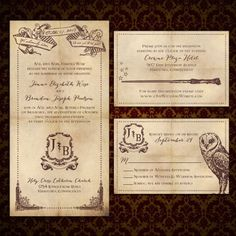 Harry Potter Wedding Invitations 13