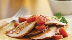 Slow-Cooker Honey Barbecue Pork Roast with Carrots