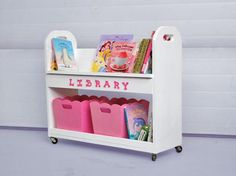There rooms are tiny, so this would be a great tiny space bookshelf, maybe even kept in the living room.