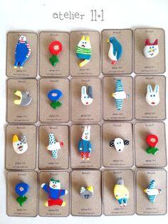 Craft Stick Crafts, Felt Crafts, Diy And Crafts, Crafts For Kids, Arts And Crafts, Paper Crafts, Ceramic Jewelry, Ceramic Clay, Resin Jewelry