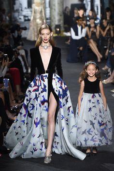 Elie Saab Fall 2016 Couture Fashion Show - Ondria Hardin