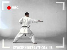 Tsuki No Kata - kata kyokushin karate - YouTube