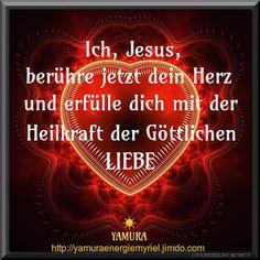 ~ Perlen der Liebe...heilend, liebend und tragend ~: Herzheilung durch Jesus