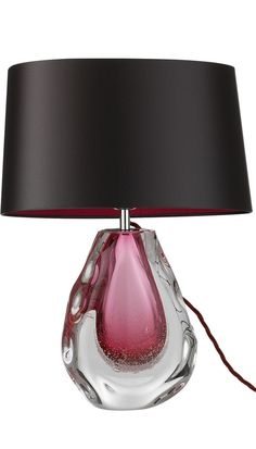 InStyle-Decor.com Designer Fuchsia Art Glass Table Lamp $995, Modern Glass Table Lamps, Contemporary Glass Table Lamps, Living Room Table Lamps, Dining Room Table Lamps, Bedroom Table Lamps, Bedside Table Lamps, Nightstand Table Lamps. Colorful Inspiring Designs, Check Out Our On Line Store for Over 3,500 Luxury Designer Furniture, Lighting, Decor & Gift Inspirations, Nationwide & International Shipping From Beverly Hills California Enjoy Whats Trending in Hollywood
