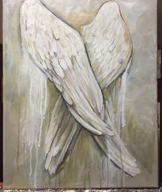 Items similar to Angel Wings Painting Custom order Angel Wings Art Painting inches cm on Etsy Angel Wings Art, Angel Wings Painting, Angel Art, Angel Paintings, Seraph Angel, Angel Stories, Genius Loci, I Believe In Angels, Angel Pictures