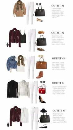 Best how to wear white pants in winter stylists Ideas Source by outfits jeans Komplette Outfits, Fall Outfits, Casual Outfits, Fashion Outfits, Womens Fashion, Jeans Fashion, Look Fashion, Winter Fashion, Mode Ab 50
