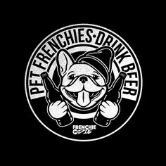 Pet Frenchies Drink Beer // http://frenchiesordie.com