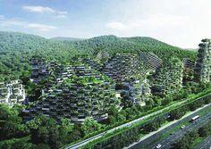 Maison du futur dans les villes forêt -  ©Stefano Boeri Architetti - Chine