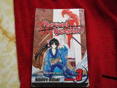 Ruroni Kenshin vol #3  Manga comic books anime manhwa manhua