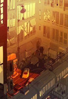 Late Summer in the city by Pascal Campion