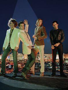 The Killers. Ronnie shaved mmmmmmm