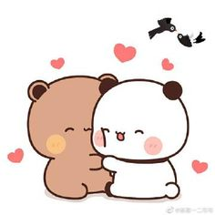 Hello Kitty, Bear, Cats, Matching Pfp, Fictional Characters, Gatos, Bears, Cat, Fantasy Characters