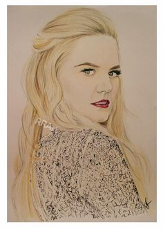 Awesome drawing of @jenmorrisonlive sent in by @RoseRed_Art