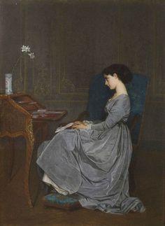 Contemplation (Auguste Toulmouche - )