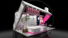 Exhibition Design - Beauty Fair - Brazil