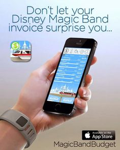 Don't let your Magic Band invoice surprise you! - Great App