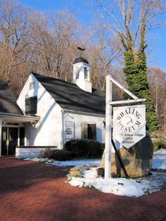 Cold Spring Harbor Whaling Museum on Main Street