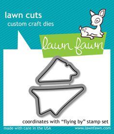 flying by - lawn cuts