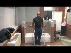 safe transfer (car, tub, &bed) instruction