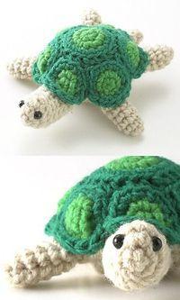 Amigurumi turtle! #crochet #crochet patterns #crochet turtle #turtle #wildlife #amigurumi #crochet animals