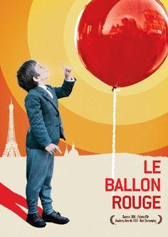 Si vous voulez faire plaisir à l'enfant qui est en vous cliquer sur l'affiche de ce moyen métrage magique de 34 minutes. Le Ballon rouge est un moyen métrage réalisé par Albert Lamorisse, sorti en 1956. Ce film de 36 minutes se déroule dans le quartier de Ménilmontant dans un Paris des années 1950, et suit les aventures d'un jeune garçon (joué par le fils d'Albert Lamorisse, Pascal). Ce petit garçon trouve un gros ballon rouge accroché à un réverbère. Commence alors ....