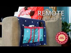 Clever DIY Sofa Caddy Keeps TV Remotes Within Reach! - DIY Joy