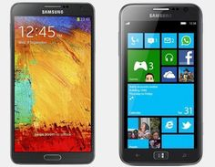 Vergelijking Samsung Galaxy Note 3 vs Samsung Ativ S | Versus OS