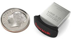 World's smallest USB 3.0 flash drive by SanDisk