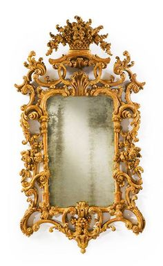 A fine George II giltwood pier Mirror circa 1755-60 #antique #fabulous