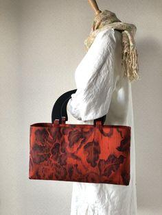 Silk Brocade, Madewell, Kimono, Pouch, Tote Bag, Purses, Sewing, Handmade, Bags