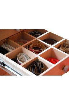 Lotusbloem: the cupboard which stores all your belts and many more things....