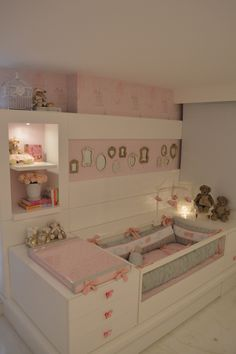 Amazing DIY Ideas To Decorating a Baby Nursery Room Decoration!- Page 9 of 55 Amazing DIY Ideas To Decorating a Baby Nursery Room Decoration! baby room ideas for boys; Baby Bedroom, Baby Room Decor, Nursery Room, Girl Nursery, Girl Room, Girls Bedroom, Bedroom Decor, Nursery Ideas, Child Room