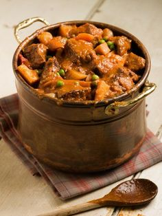 Beef Stew (sooo good - the wine makes a difference!)