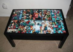 DC Comics Coffee Table   Community Post: 21 Geeky Projects Fit For A Superhero