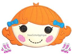 Pickles B.L.T. Lalaloopsy No Sew Applique Patch on Etsy, $12.00