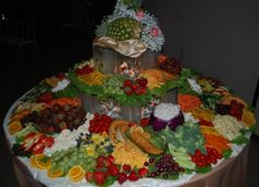 WEDDING APPETIZER TABLE IMAGES | Appetizer Table