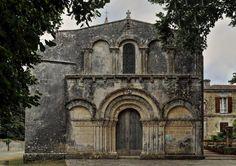 Le Douhet - Iglesia románica de Saint Martial #douhet #ledouhet #románico #égliseromane #charente